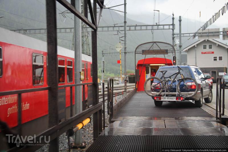 Очередной день моего швейцарского путешествия / Швейцария