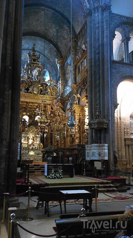 Сантьяго-де-Компостела. Собор и его окрестности / Испания