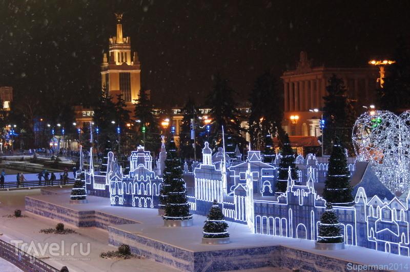 Новогодняя Москва 2015-2016 / Россия