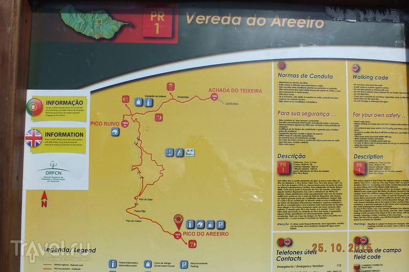 Португалия. Мадейра. Деревня Камаша. Пик Ариейро / Португалия