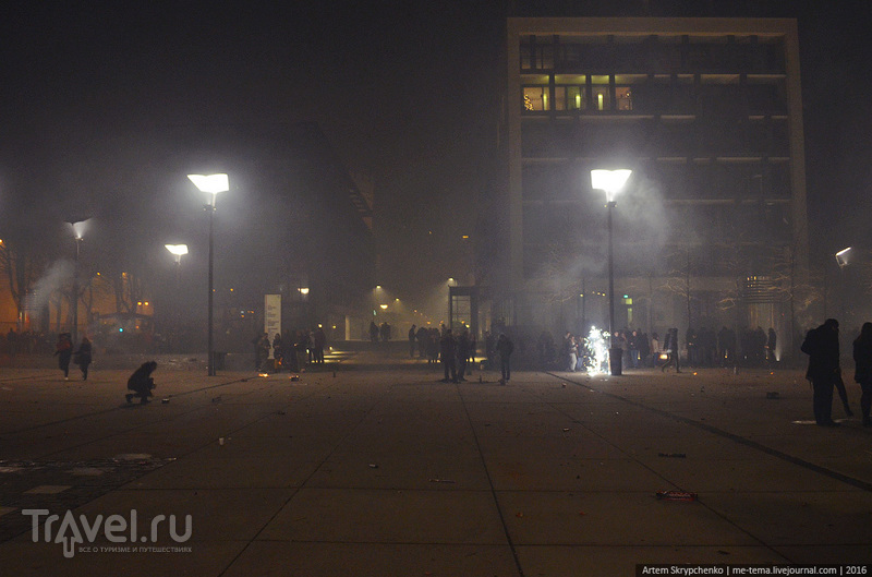 Что происходило в Кельне на Новый год / Германия