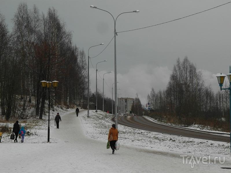 Кондопога - Обычный город / Россия