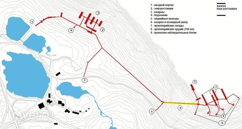 Пушки в горах или самая удивительная швейцарская крепость Sasso da Pigna / Швейцария