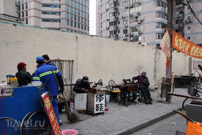 Шанхай в январе. Инструкция по применению / Китай
