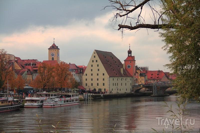 Если вам хочется соприкоснуться с историей то вам в Регенсбург / Фото из Германии