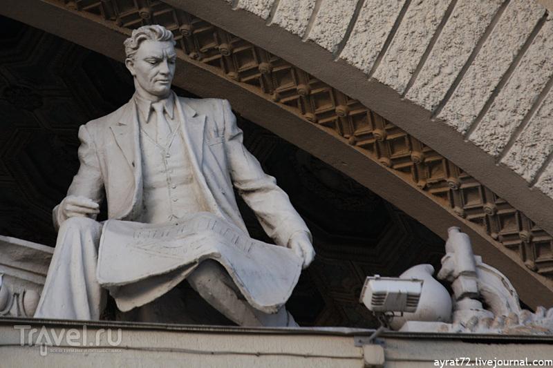 Минск. Октябрьская площадь / Фото из Белоруссии