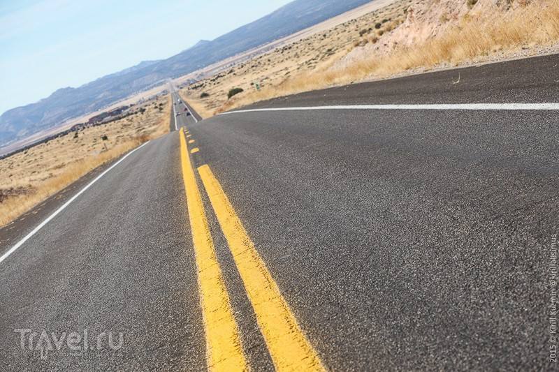 Немного Route 66. От Хакбери до Холбрука / Фото из США