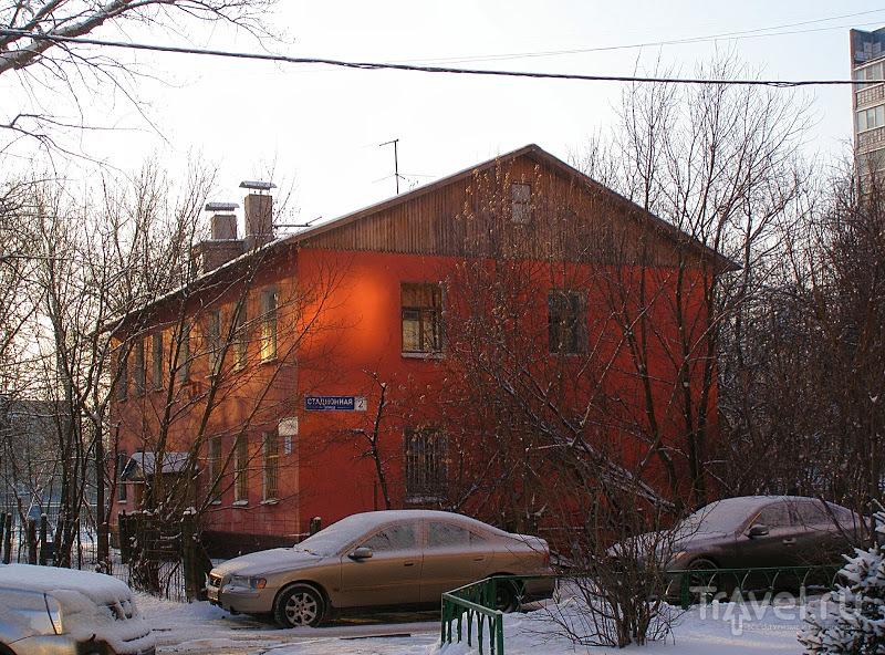 Московская обл. Королёв. Стадионная улица / Россия