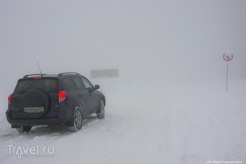 Прогулки по заснеженному Ай-Петри или День перед Рождеством / Россия