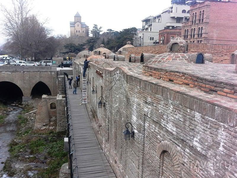 Серные бани Тбилиси / Грузия