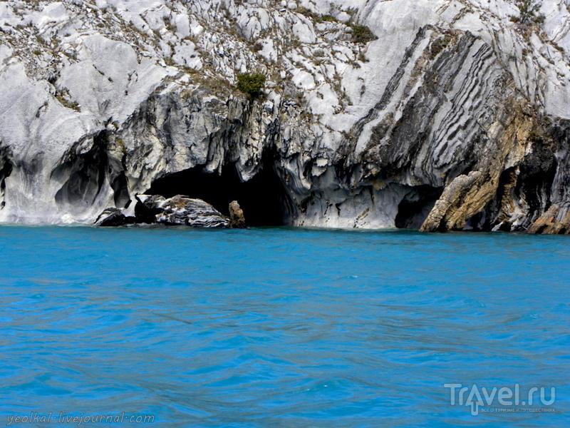 Чили - сбыча мечт! Карретера Аустраль. Las Cavernas de Mármol. Marble Cathedral - Мраморный собор / Фото из Чили