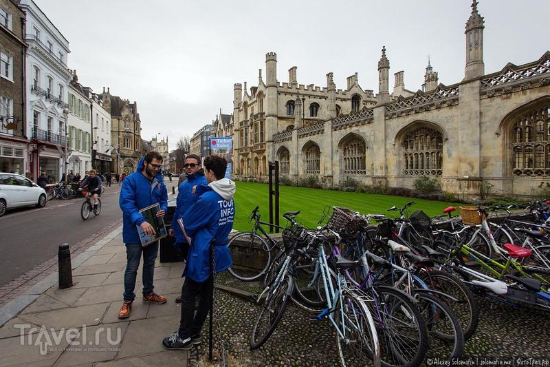 Кембридж. Город велосипедов / Фото из Великобритании