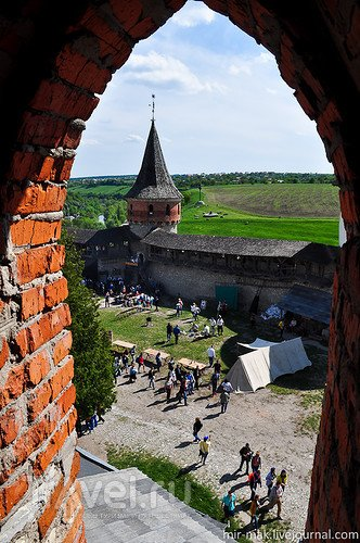 Каменец-Подольская крепость и фестиваль воздухоплавания / Фото с Украины