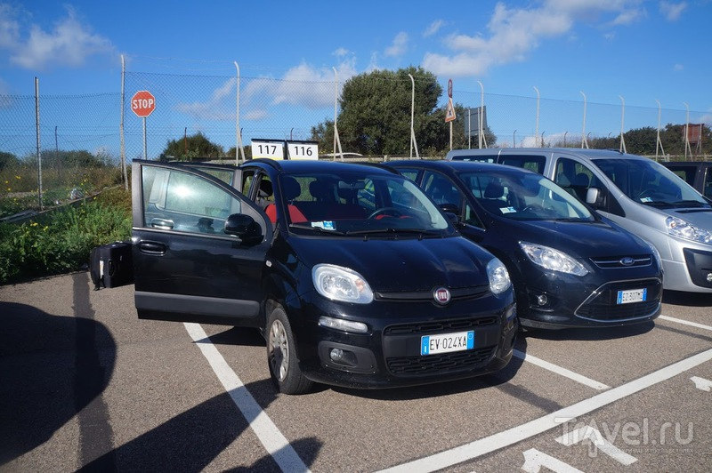 Fiat Panda в прокате в Италии / Италия