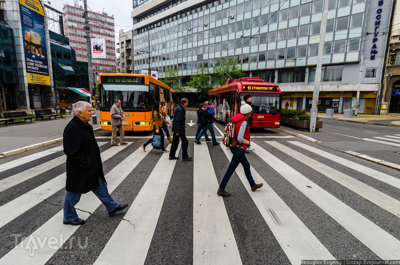 Балканы 2012. Сердце Белграда / Фото из Сербии