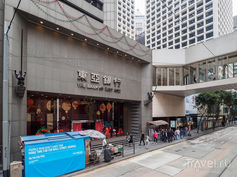 Трамваи Гонконга / Фото из Гонконга