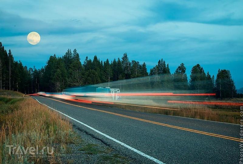 Йеллоустоун. Путешествие на кемпере в Затерянный мир / Фото из США