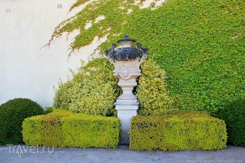 Сад Вртба - секретный пражский сад в стиле барокко / Чехия