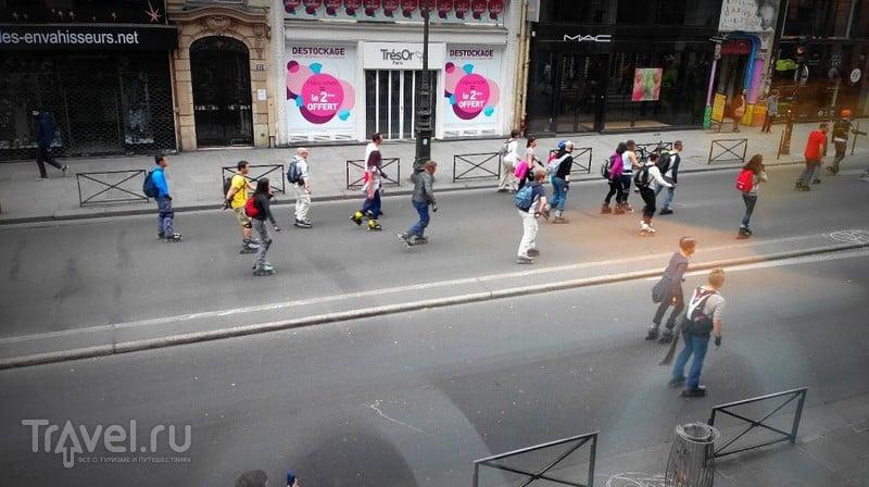 Париж. Район центрального рынка и квартал Оперы / Франция