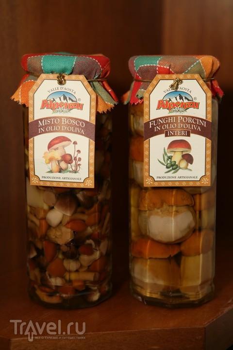 Кухня Аосты. Грибы, овощи и травы / Италия