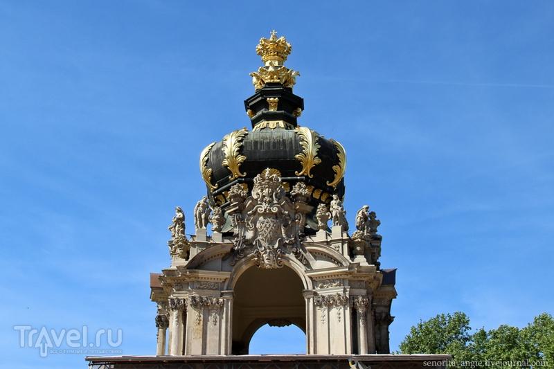 Дрезден за один день. Театральная площадь, Цвингер, Церковь Св. Анны / Германия