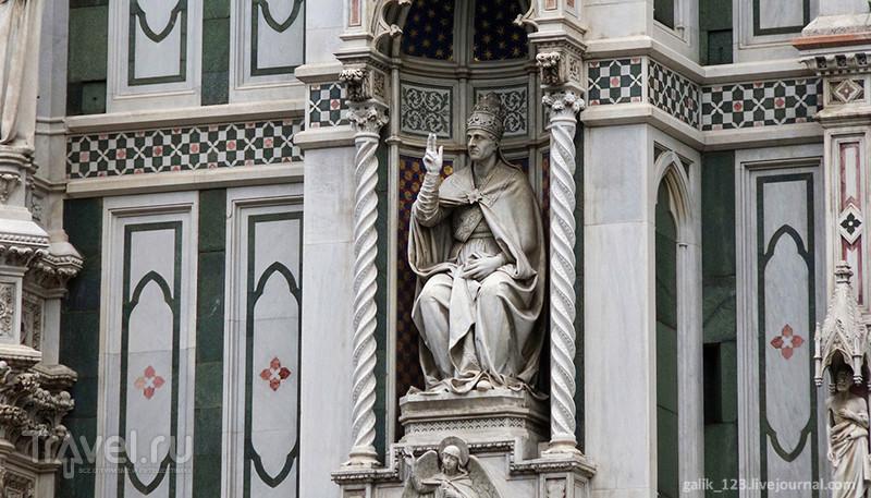 Кафедральный собор Флоренции в деталях / Италия