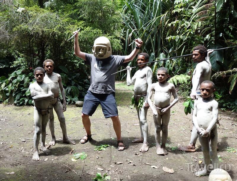 Культурный туризм по-папуасски / Папуа-Новая Гвинея