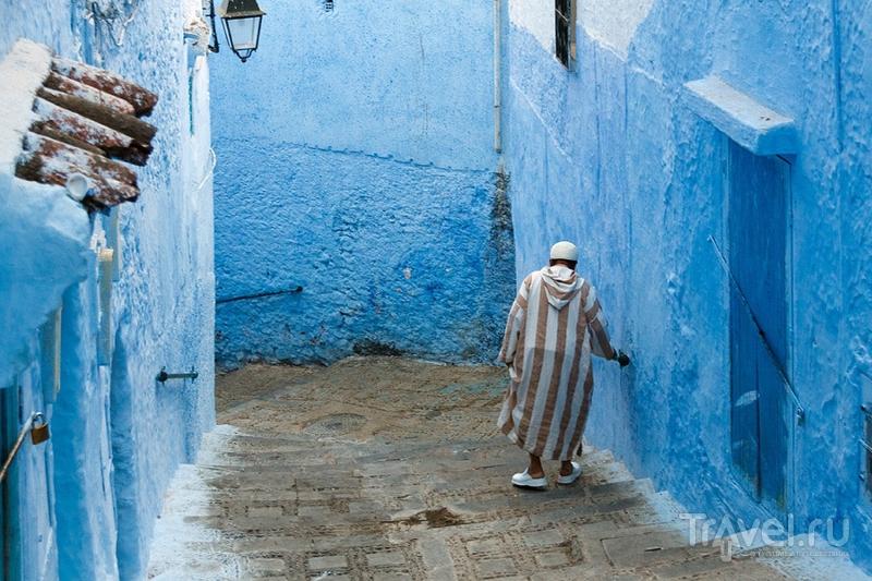 Марокко. Синий город / Фото из Марокко