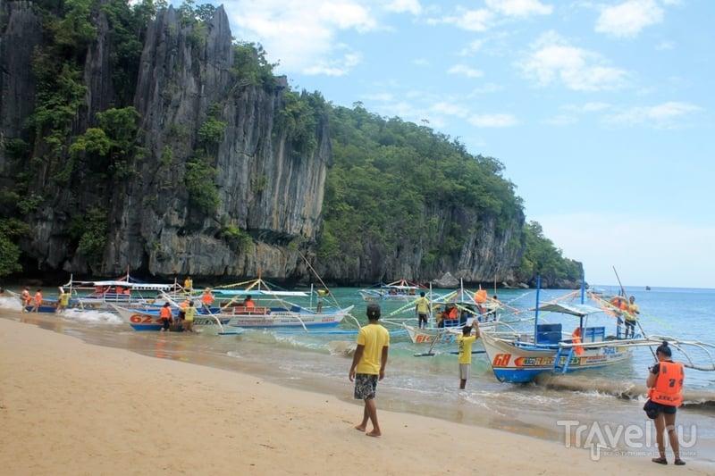 Филиппины: подземная река на острове Палаван / Фото с Филиппин