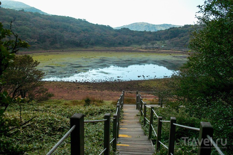 Вулкан Halla-san самая высокая точка Южной Кореи / Фото из Южной Кореи