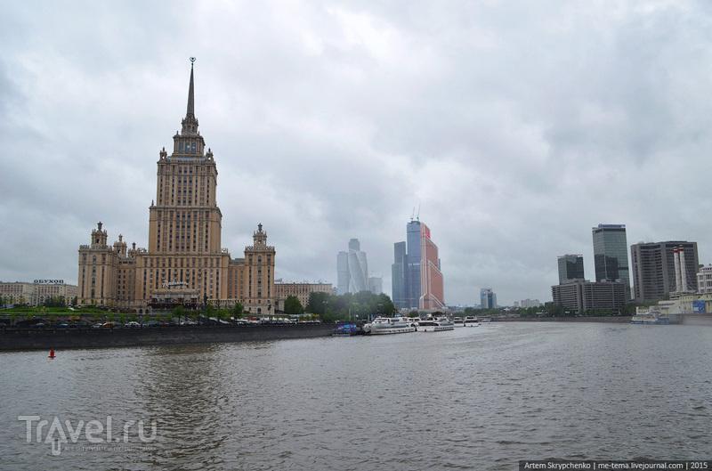 Москва: улицы, дороги и небоскребы / Россия