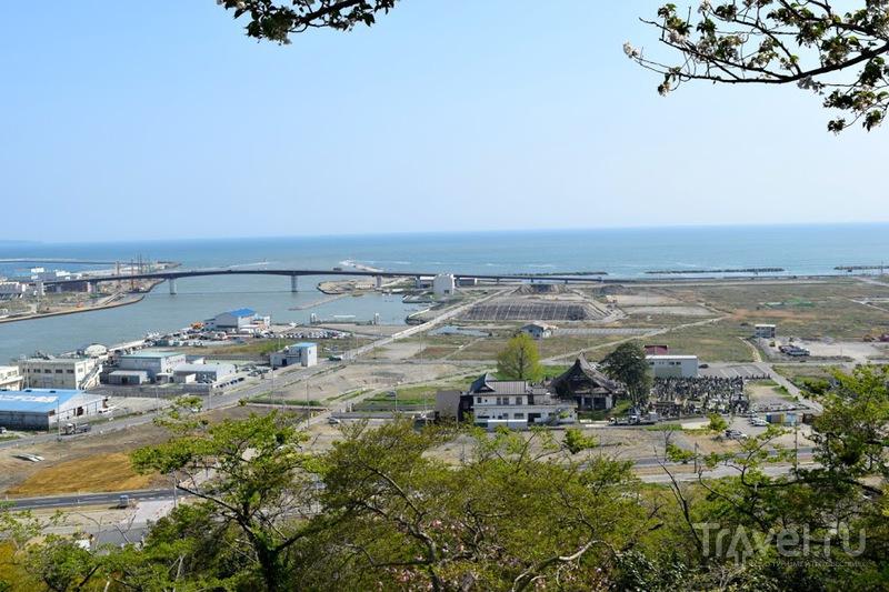 Север острова Хонсю и пострадавший от цунами регион Тохоку / Фото из Японии