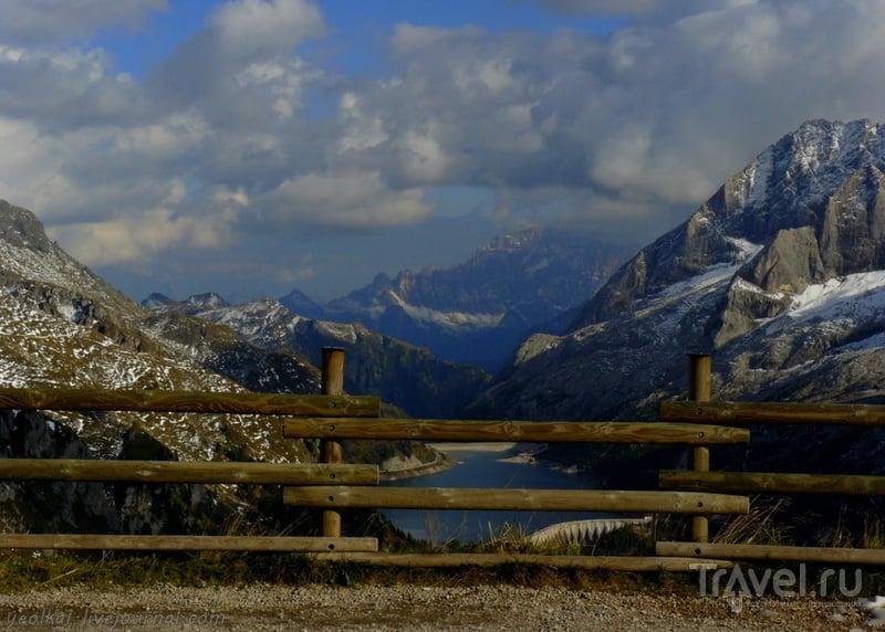 Девять дней в Доломитах. По заснеженному Бельведеру. Южная терраса / Фото из Италии