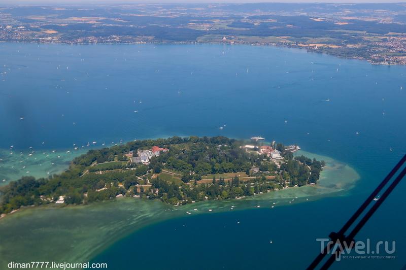 Полет на Ан-2 над Боденским озером / Германия