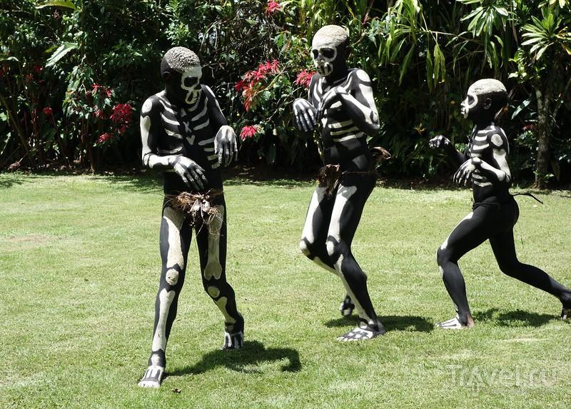 Культурная программа по-папуасски. Скелеты, птицы и любовные игрища / Папуа-Новая Гвинея