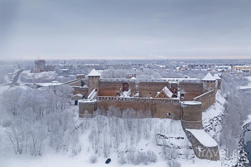Зимняя Нарва / Фото из Эстонии