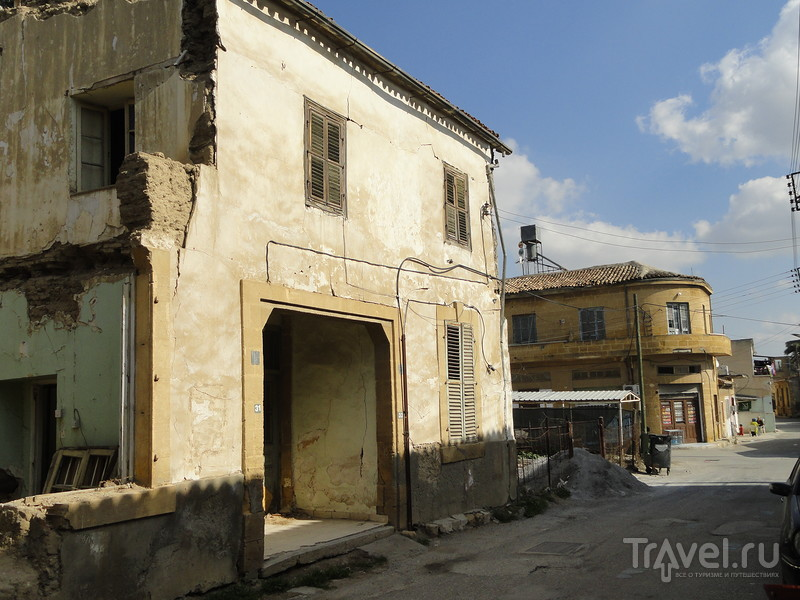 Турецкая Никосия - самый разрушенный город Кипра. Музей  варварства / Кипр