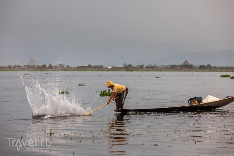 Бирма. Рыбаки озера Инле / Фото из Мьянмы