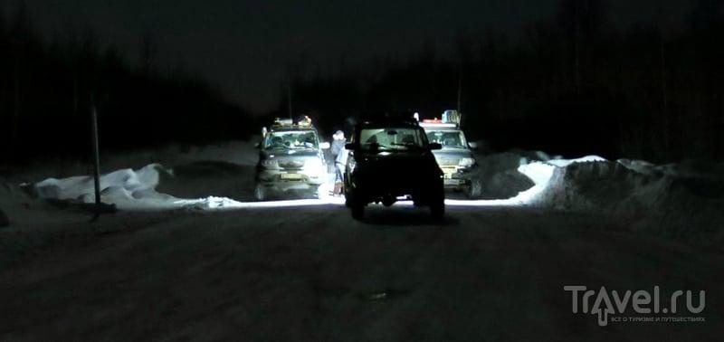 Зимник Каргасок - Нижневартовск на пути в Салехард / Россия