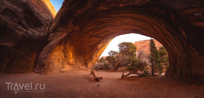Национальный парк Арки. От заката до рассвета / Фото из США