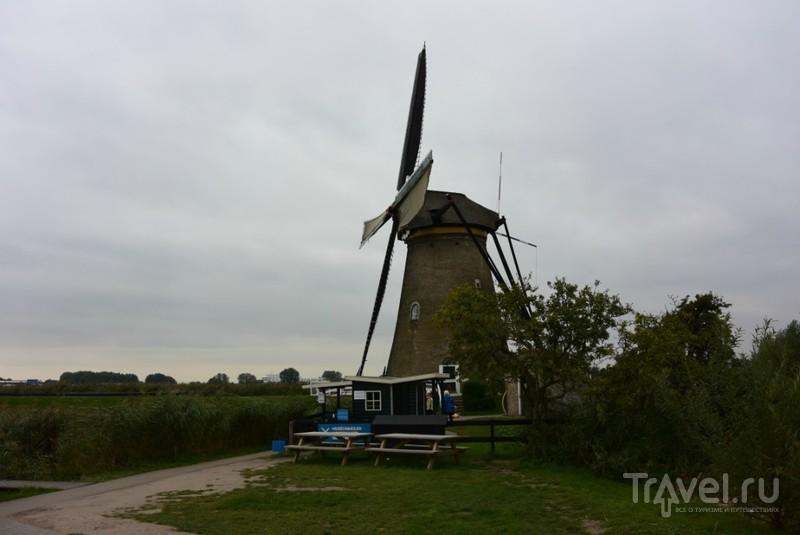 Голландия. Мельницы Киндердайка / Нидерланды