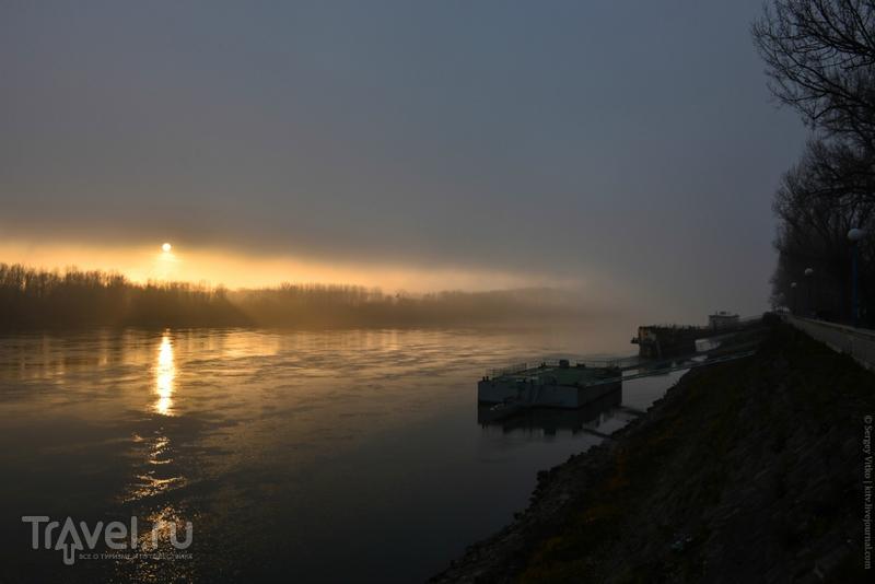 Туманы над рекой / Фото из Словакии