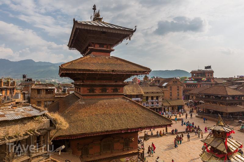Неизвестные Гималаи. В поисках охотников за медом диких пчёл. Бхактапур / Фото из Непала