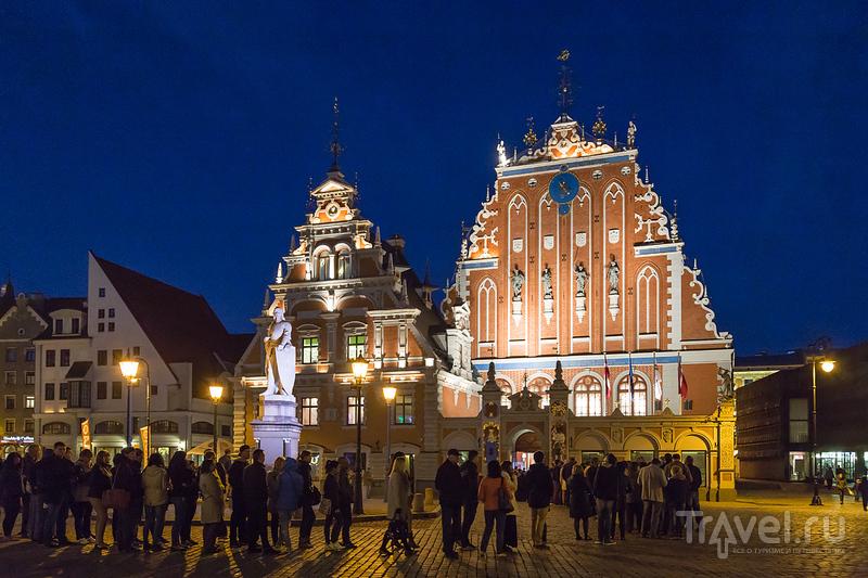 Центр Риги днем и вечером / Фото из Латвии