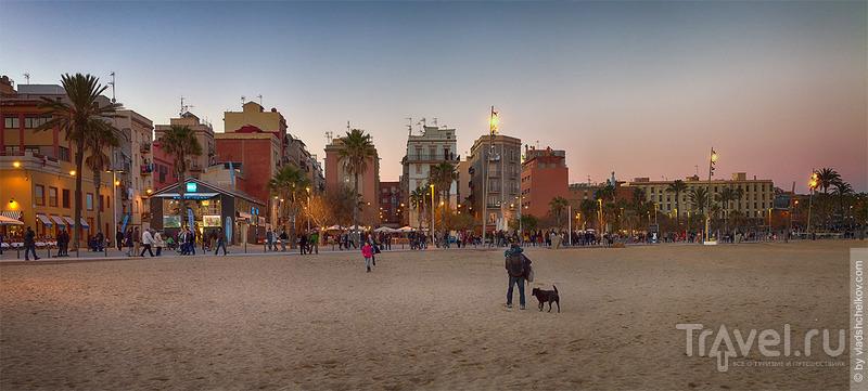 Панорамы Барселонетты / Испания