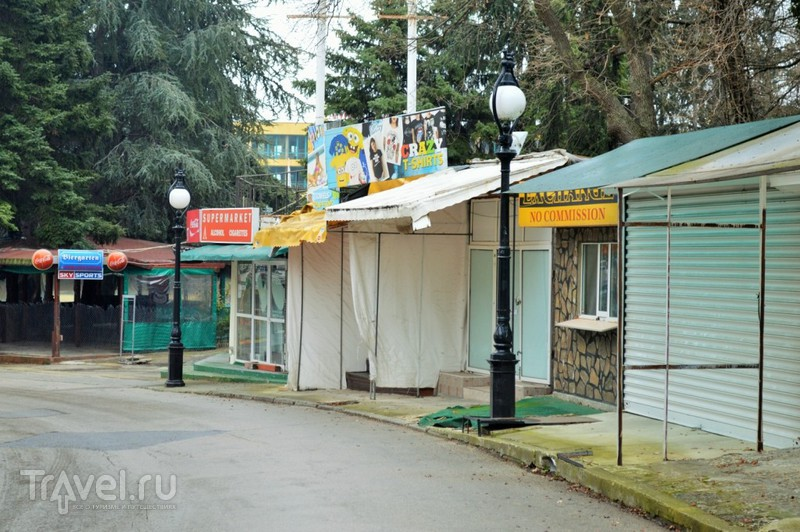 Как выглядит знаменитый черноморский курорт зимой / Болгария