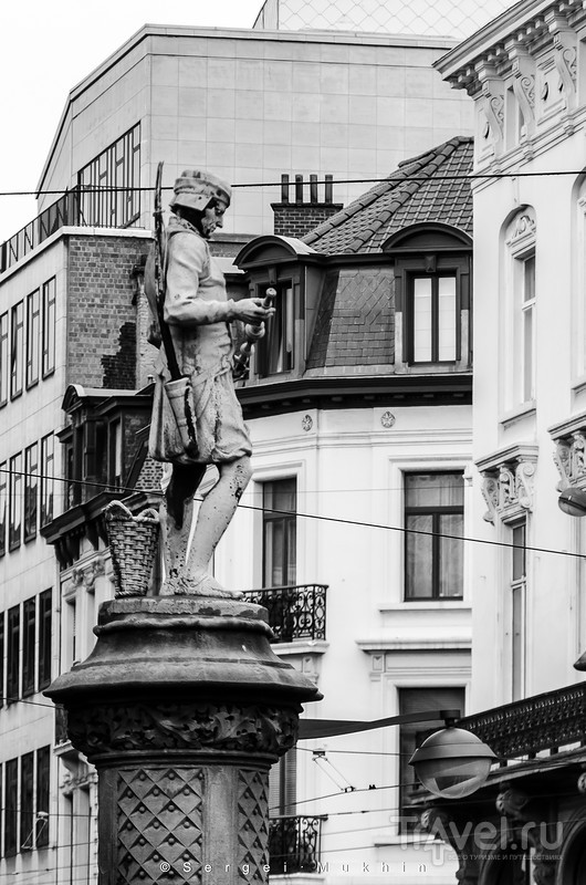 Брюссель без красок... / Бельгия