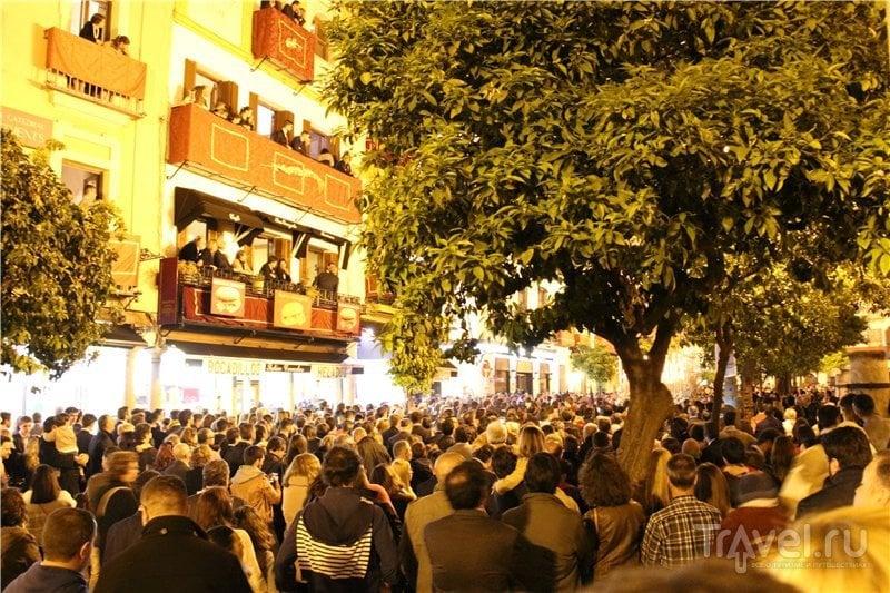Семана Санта в Севилье / Испания