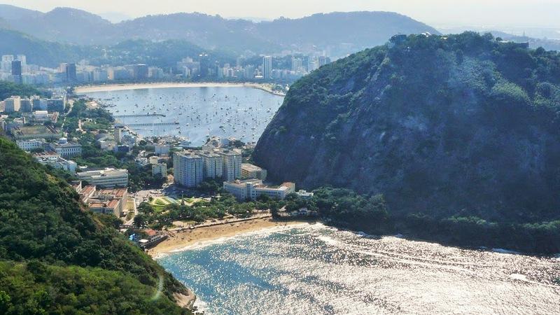 Рио на велосипеде: пляжи Фламенго, Ботафого и Вермела / Бразилия