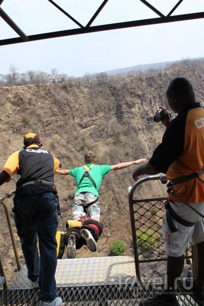 Зимбабве. Пересекая границы пешком, или 111 метров чистого адреналина / Зимбабве